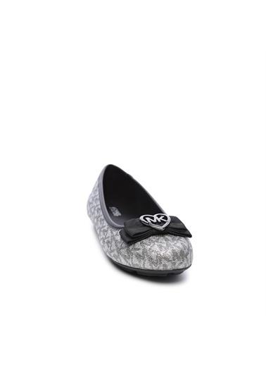 Michael Kors Çocuk Vegan Babet Ayakkabı Siyah